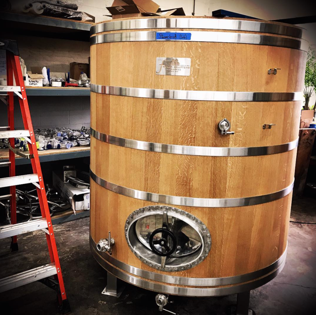 Stormcloud's first foeder, still at Foeder Crafters of America.